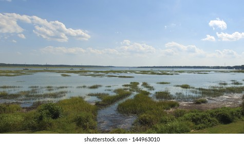 The Atlantic Intra - Coastal Waterway at Beaufort, Lady Island, Port Royal, and Parris Island, South Carolina.