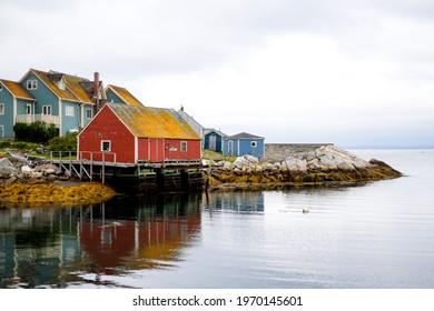 Atlantic Ocean Fishing Community Peggy's Cove Nova Scotia
