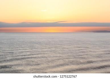 Atlantic ocean in Ireland