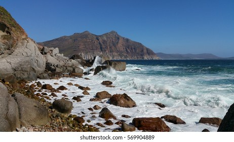 Atlantic Ocean near Hout Bay, South Africa