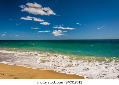 The Atlantic Ocean in Palm Beach, Florida.