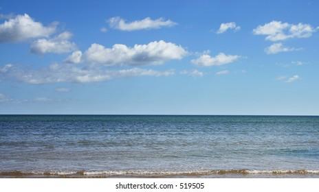 Atlantic ocean taken from Ireland