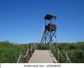Atlantic Ocean Watchtower Portugal