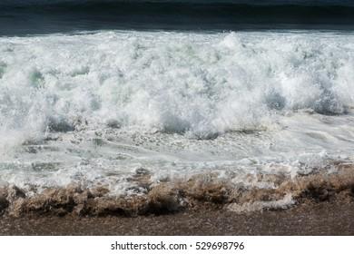 Atlantic ocean wave.