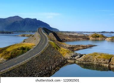 Atlantic road, Norway (Atlanterhavsvegen)