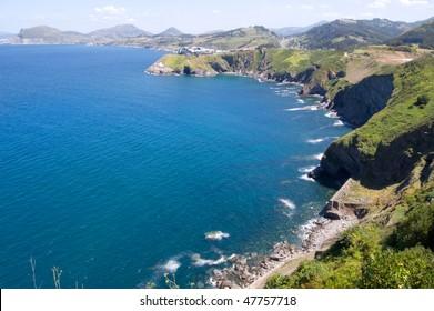 atlantic shore, Costa Vasca near Deba