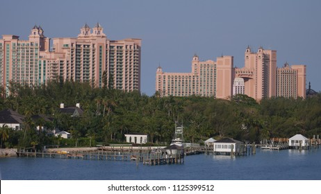 Atlantis Resort On Paradise Island In Nassau Bahamas