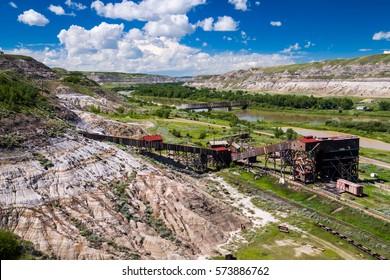 Atlas Coal Mine Museum in Drumheller, AB