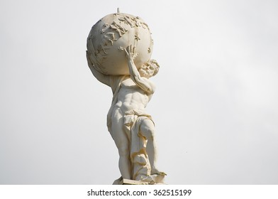 Atlas God Statue