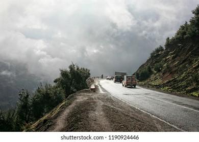 Atlas mountains, Morocco, North Africa