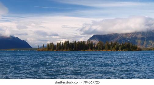 Atlin lake, British Columbia, Canada