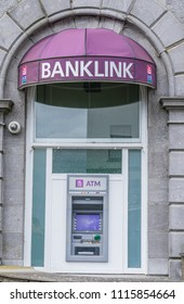 ATM machine, at AIB Bank, in Athlone, Co. Westmeath, Ireland, taken on July 11th, 2017.