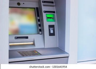 ATM machine , Banking