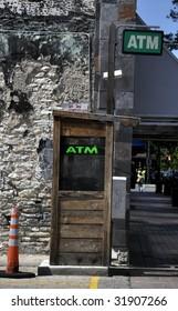 ATM machine in downtown Austin, TX