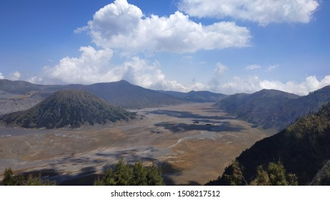 the atmosphere in Bromo Tengger Semeru National Park, Seruni Point