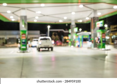 The atmosphere in filling station