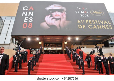 Atmosphere at the Palais des Festivals at the 61st Annual International Film Festival de Cannes. May 14, 2008  Cannes, France. Picture: Paul Smith / Featureflash
