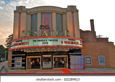 """Atmosphere at a screening of """"6 Nonsmokers,"""" Senator Theater, Baltimore, MD. 06-26-10 Photos Courtesy Lee Monroe/DailyCeleb.com"""