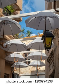 Atmosphere in the streets of Rethymno, Crete Island, Greece