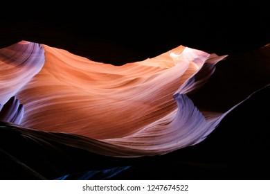 atmospheric antelope canyon