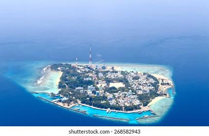 Atolls of Maldives (Villingili Island)