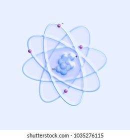 atomic structure - elementary particles physics theory