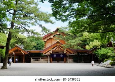 Atsuta Shrine Temple of God, Nagoya, Aichi Prefecture, Japan
