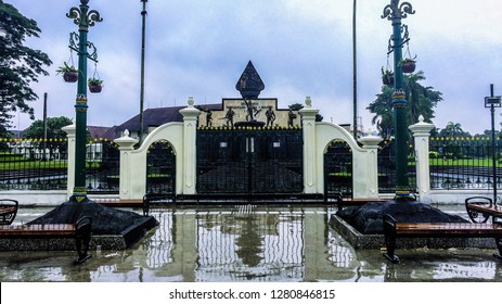 The Attacking of 1st March Monument Jogja