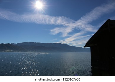 Attersee, against-the-light photograph