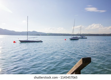 Attersee Badestrand privat