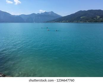 Attersee Lake Austria