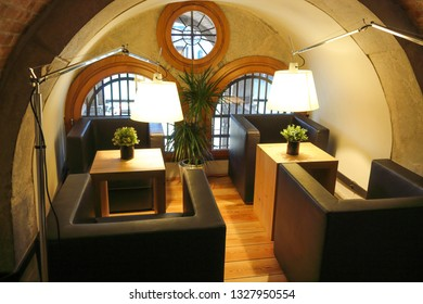 attic rest room, Wooden Attic With Corner For Rest