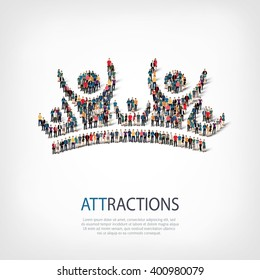 attractions people  symbol
