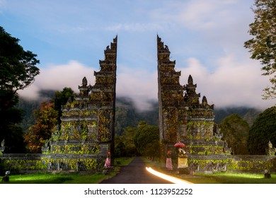 attractions and views of Bali in Indonesia