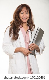 Attractive asian medical professional