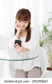 attractive asian women lifestyle image