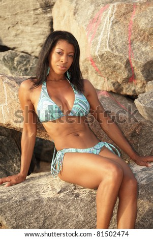 Black women bikini gallery not clear