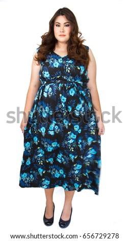 Attractive chubby women