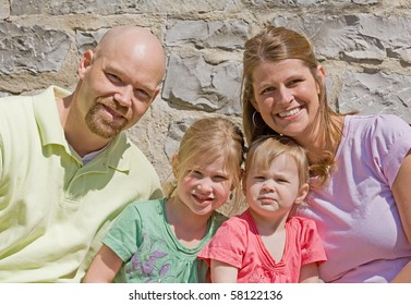 Attractive Family of Four
