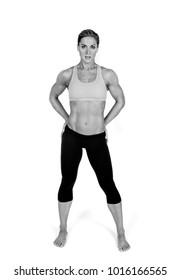 Attractive Female Body Builder