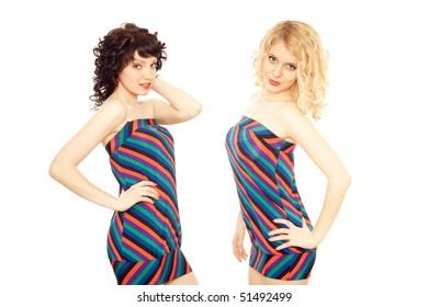 attractive girls posing