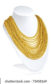 a lot of attractive gold necklace for you to choose
