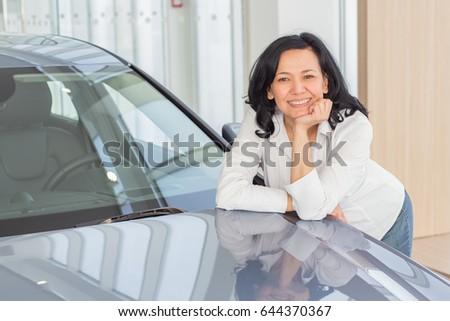 asian posing Mature woman