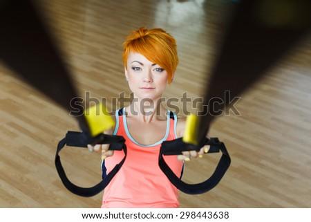 Understand Redhead female fitness girls