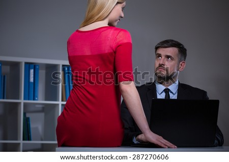 Wife seduced by her boss