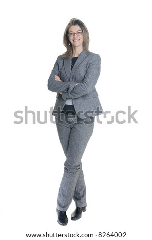 Attractive Women Business Suit Stock Photo Edit Now 8264002