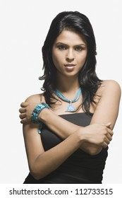 Attractive young Indian woman