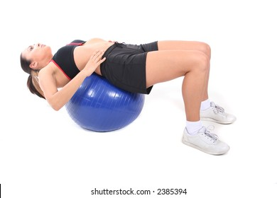Attractive Young Working Out and Staying Fit and Healthy