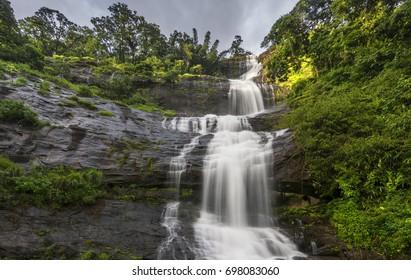 Attukad waterfalls, Munnar, Kerala, India