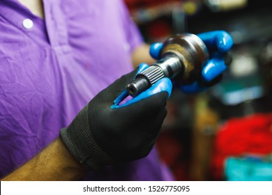 ATV constant-velocity CV joint, repair by hands